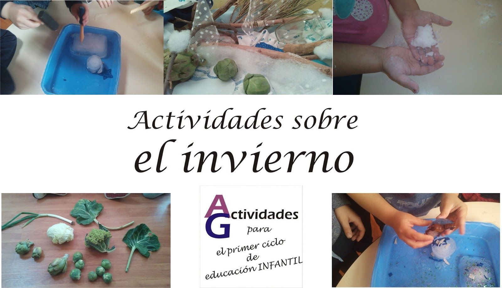 Actividades Para El Primer Ciclo De Educación Infantil Actividades Sobre El Invierno Actividades Educacion Infantil Invierno
