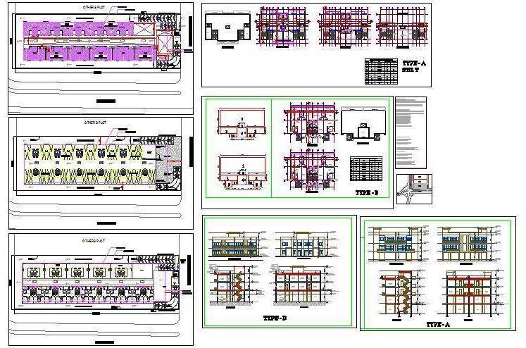 Housing Society Design In 2020 Parking Design Autocad Design