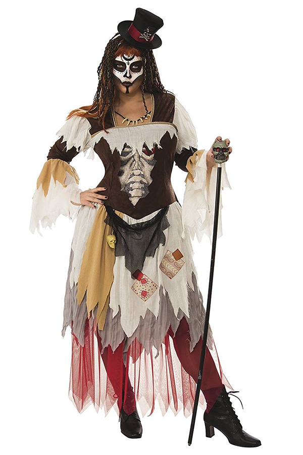 Women S Plus Size Voodoo Witch Doctor Sorceress Black Magic Halloween Costume Plus Size Halloween Costume Plus Size Costume Plus Size Halloween