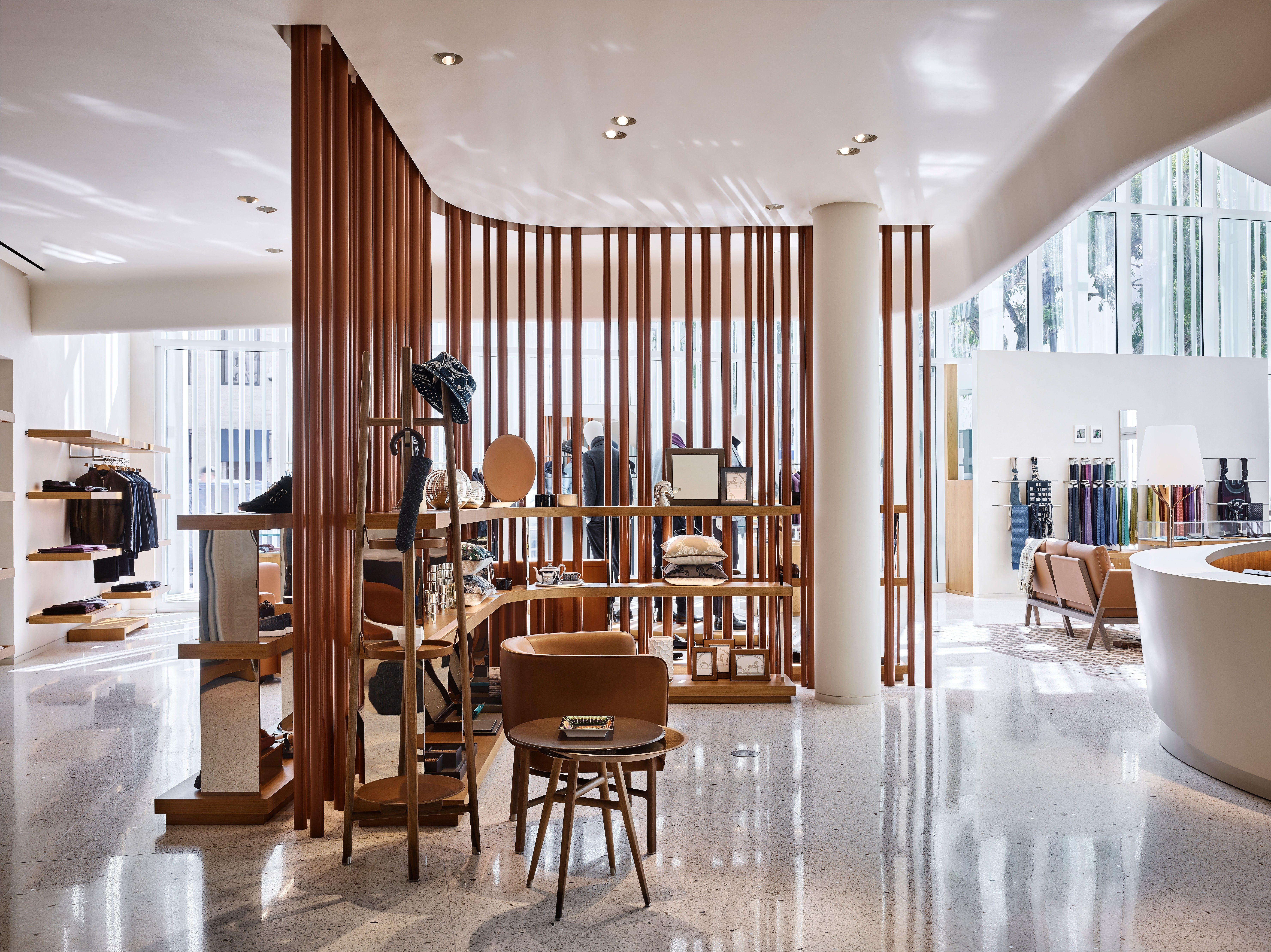 Hermès Opens a Striking New Shop in Miami's Design