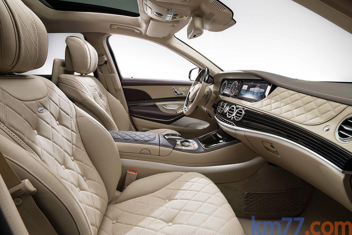 Mercedes Benz Maybach Clase S Turismo Interior Asientos 4 Puertas Mercedes Maybach Mercedes S Class Interior Mercedes Maybach S600