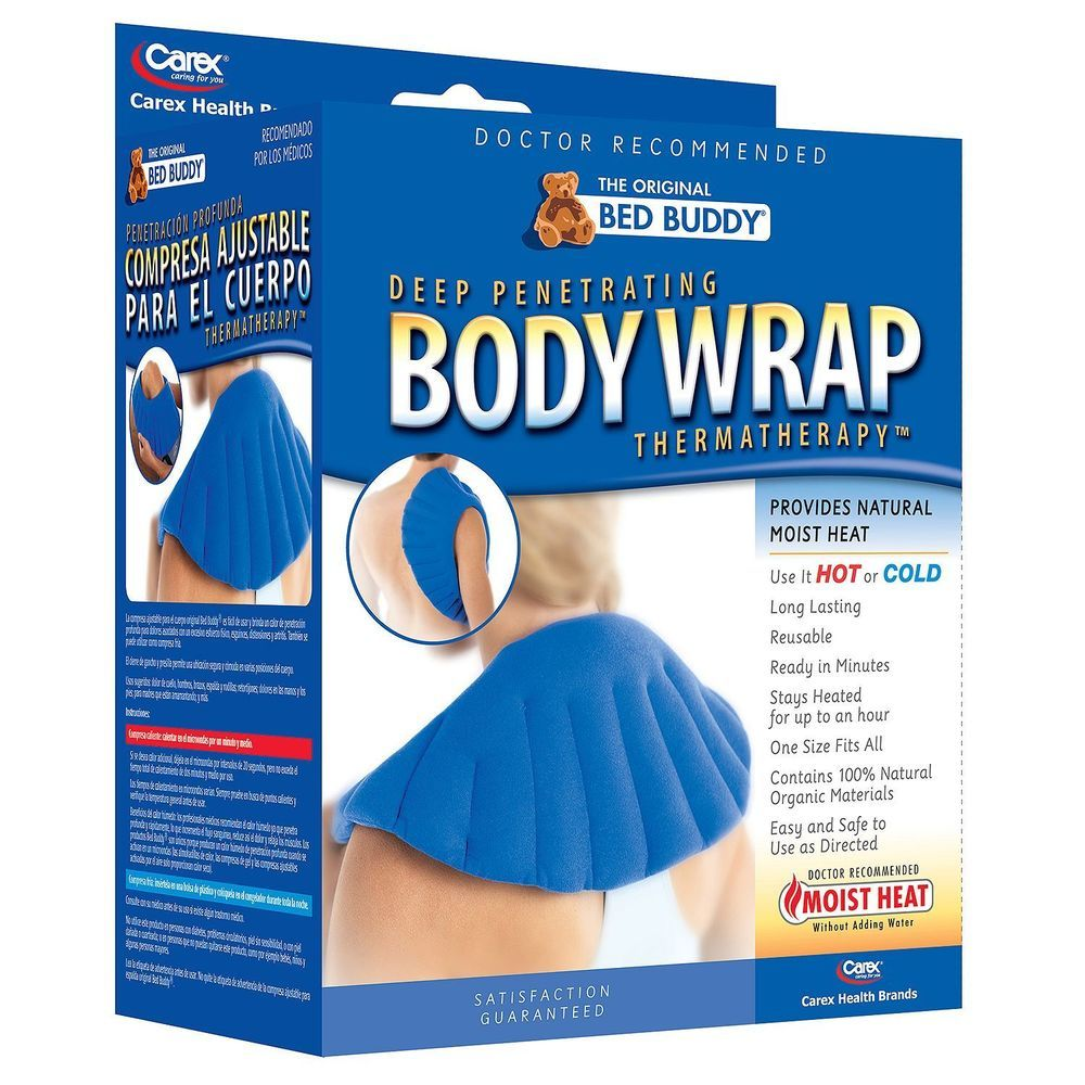 Details about Bed Buddy Body Wrap Microwave Heat Therapy