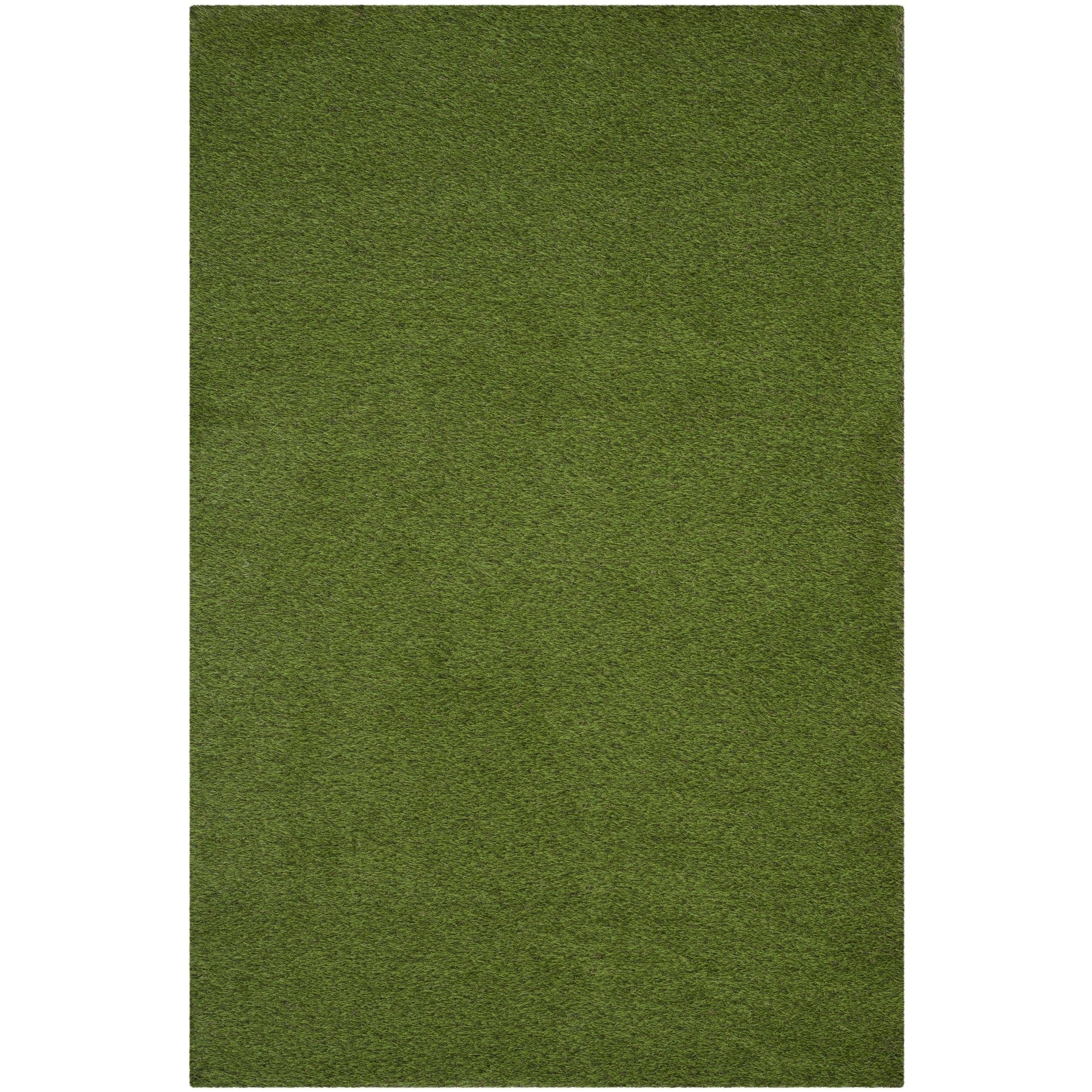 Safavieh Vista Shag Verdant Green Indoor Outdoor Rug 8 X 10