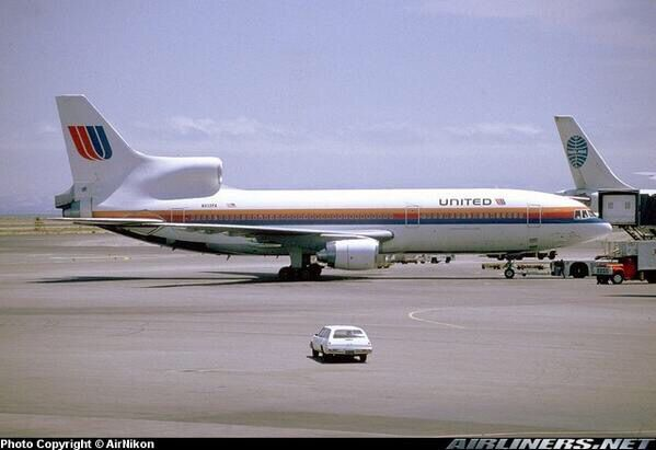 United Airlines Tristar L1011