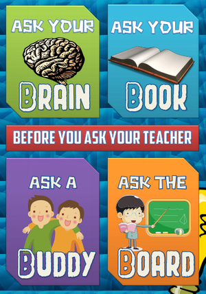 Student initiative poster | Classroom posters, Classroom ...