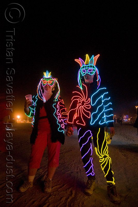 Image result for el wire creations | Costumes | Pinterest | Burning ...