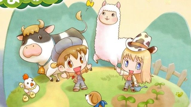 New Harvest Moon Game Announced For Nintendo 3ds