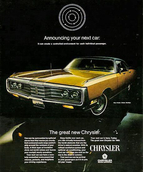 Chrysler New Yorker 1969 Gold With Images Chrysler New Yorker