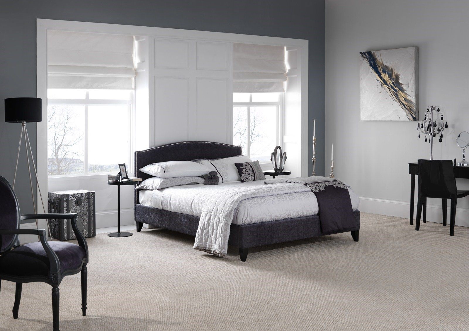 Bedroom Breathtaking Bedroom Design Ideas With King Sized Dark