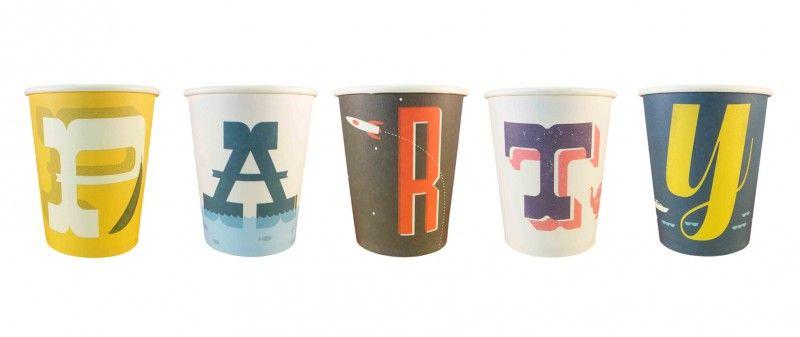 paper cups A-Z