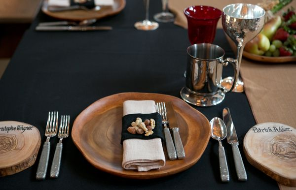 Medieval _Place _setting | wedding decorations | Pinterest ...