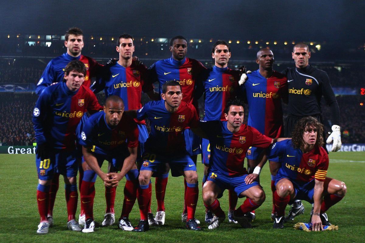 Клуб барселона 2008 фото