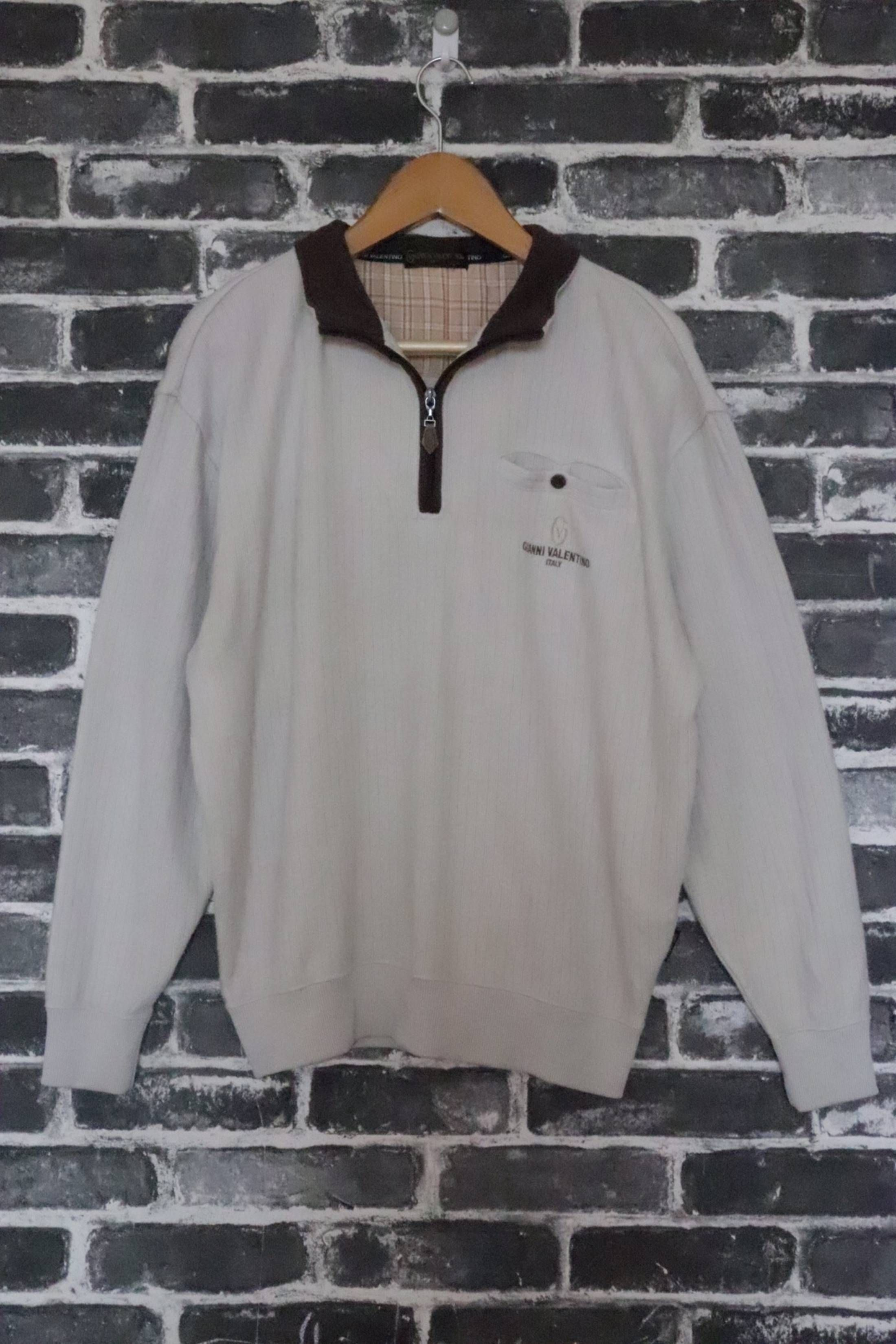 5bf9546c705ed ... GIANNI VALENTINO italy Pull over jumper Men fashion wear Casual wear  not Burberrys Chanel versace Street wear/golf/street Size US L / EU 52-54 /  3