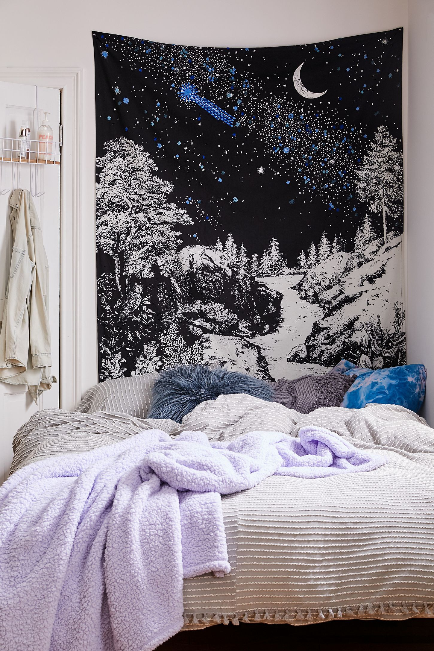 Embroidered Landscape Tapestry Room Tapestry Tapestry Tapestry