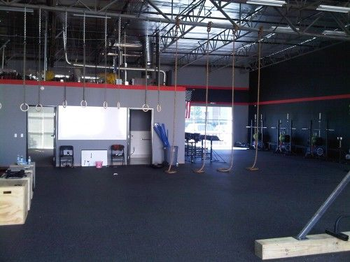 Warehouse gym design google search crossfit box