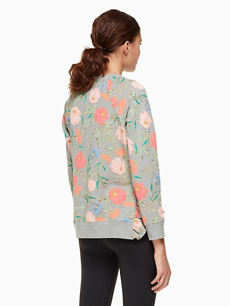 c4f78296c61 Kate Spade Blossom Crop Pullover