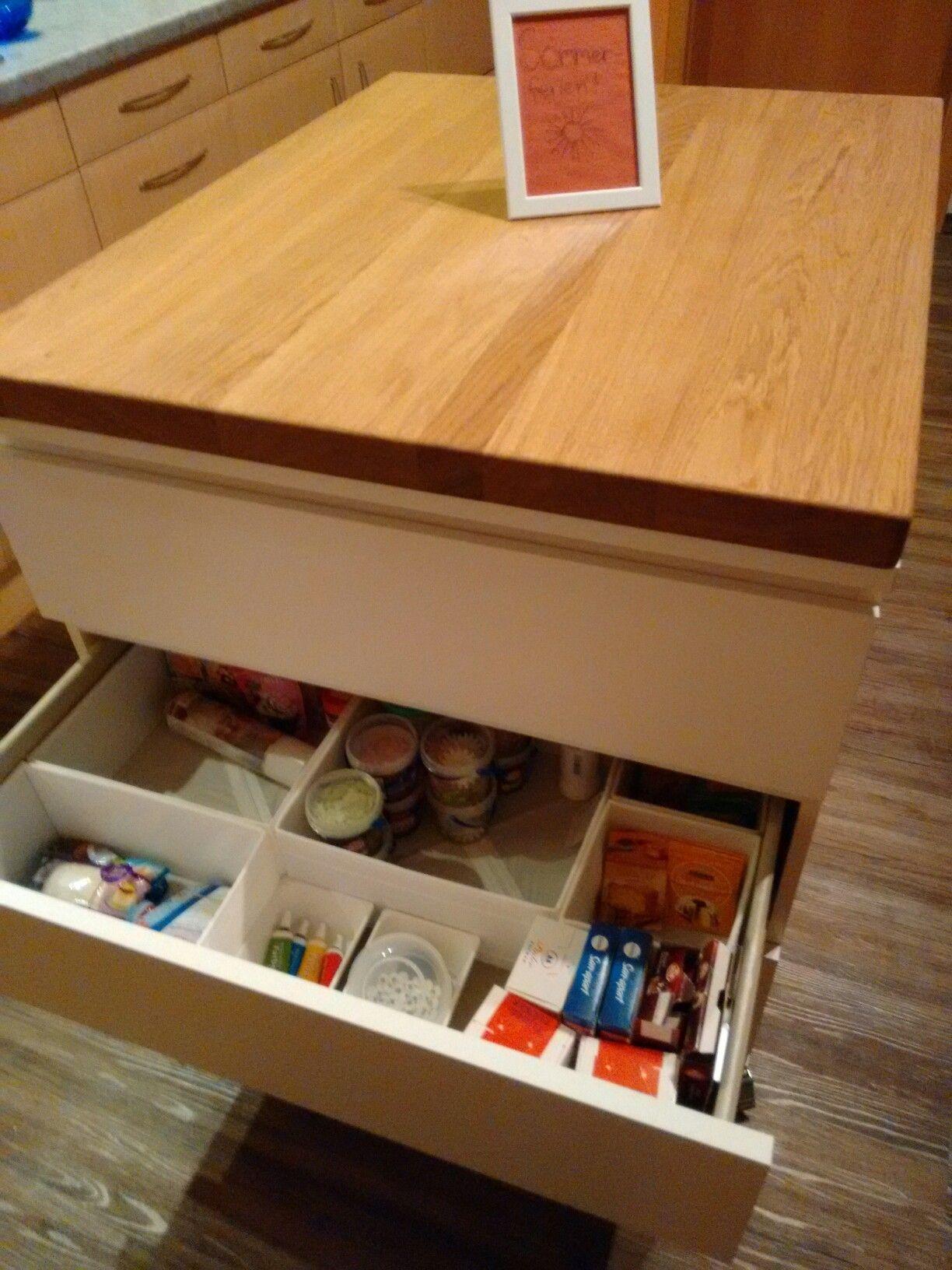 Ikea Kücheninsel | Malm, Kücheninsel und Bauanleitung