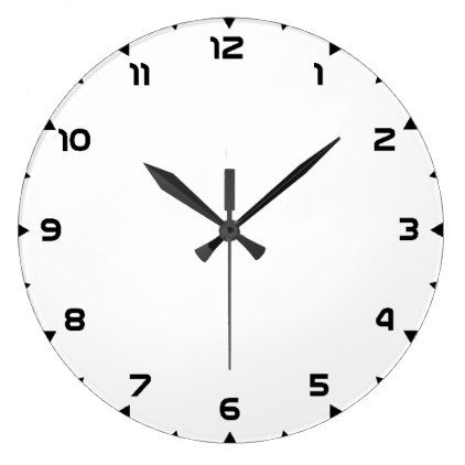 Clock 12h template create your own wall clock-face Clock, Create - clock templates