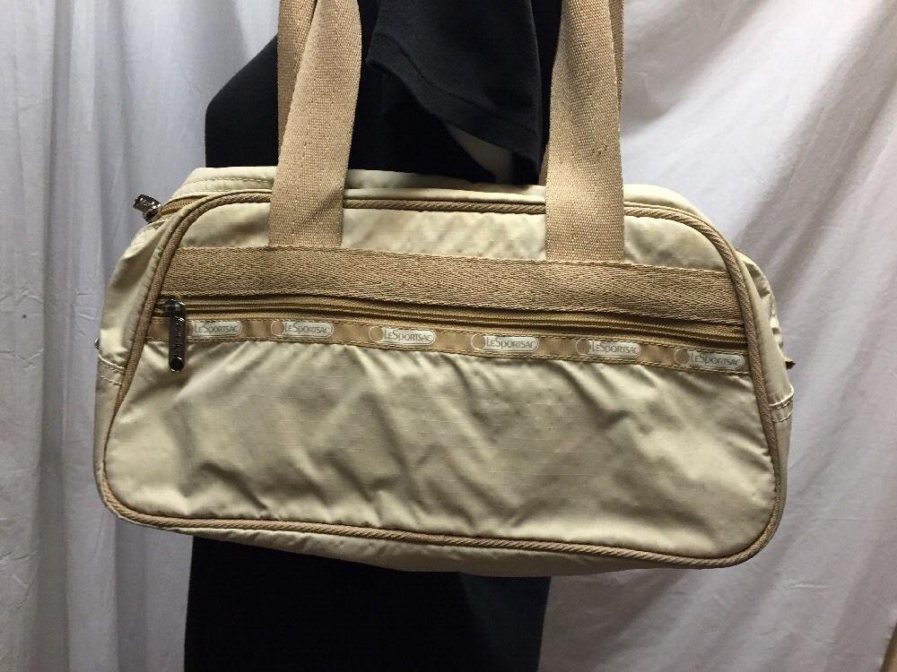 1f1df4a6cef5 LeSportSac Shoulder Bag Beige Nude Handbag Purse Le Sports Sac  LeSportSac   ShoulderBag