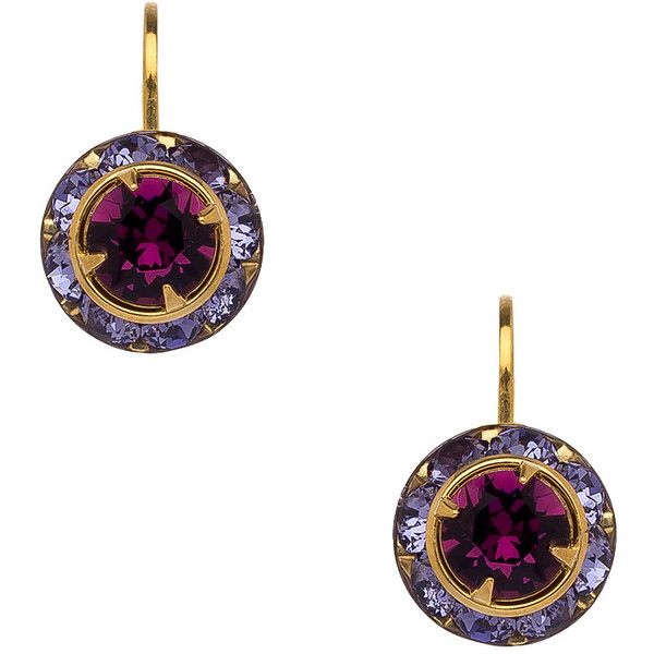 Liz Palacios Max and Chloe Rondelle Leverback Earrings ($35) ❤ liked on Polyvore featuring jewelry, earrings, 14k jewelry, 14k earrings, liz palacios, liz palacios earrings and liz palacios jewelry