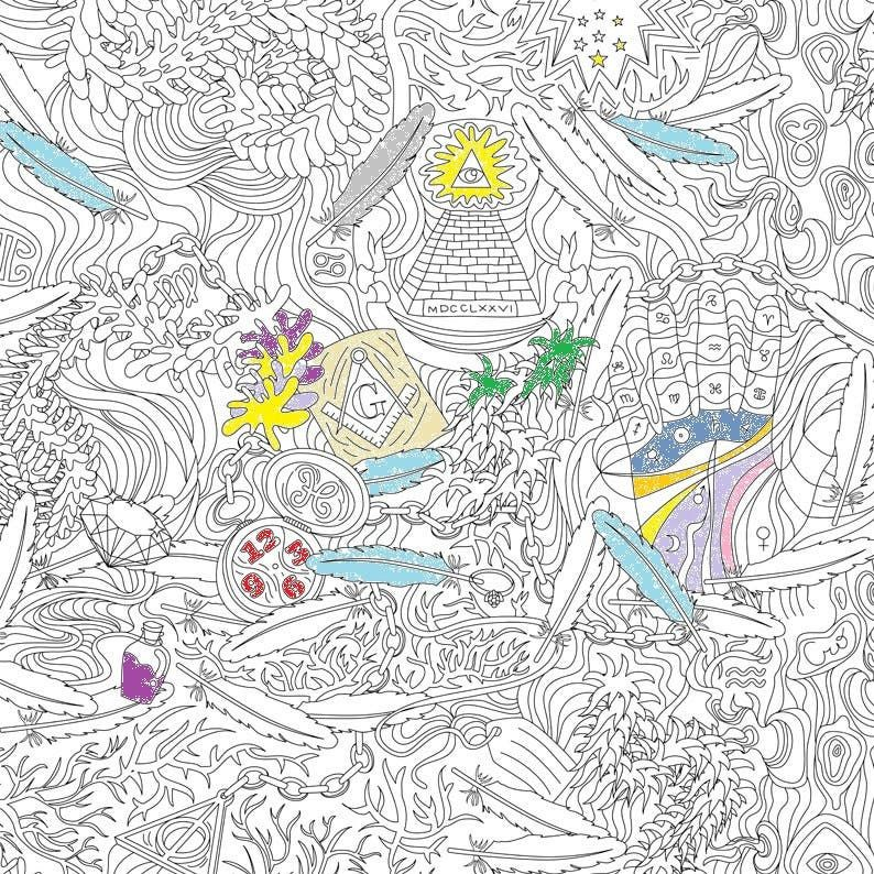 Design Guide Coloring Book Wallpapers For Your Inner Child Book Wallpaper Wallpaper Coloring Books