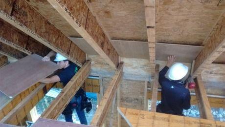 Attic Vent 4 Attic Vents Roof Overhang Attic