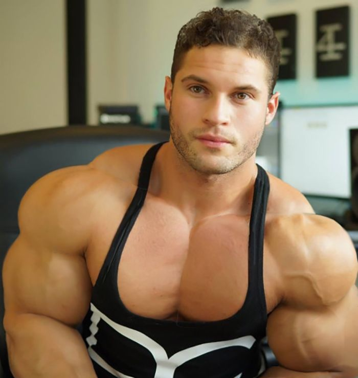 Huge male pecs morph opinion you