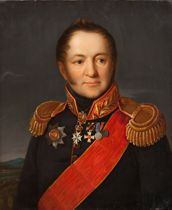 Портрет П. А. Тучкова. Неизвестный художник. XIX в.