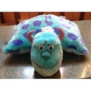 Amazon Com Disney Park Sulley From Monsters Inc Pillow Pal Plush Pet Doll New Everything Else On Wanelo Animal Pillows Disney Pillows Pillow Pals
