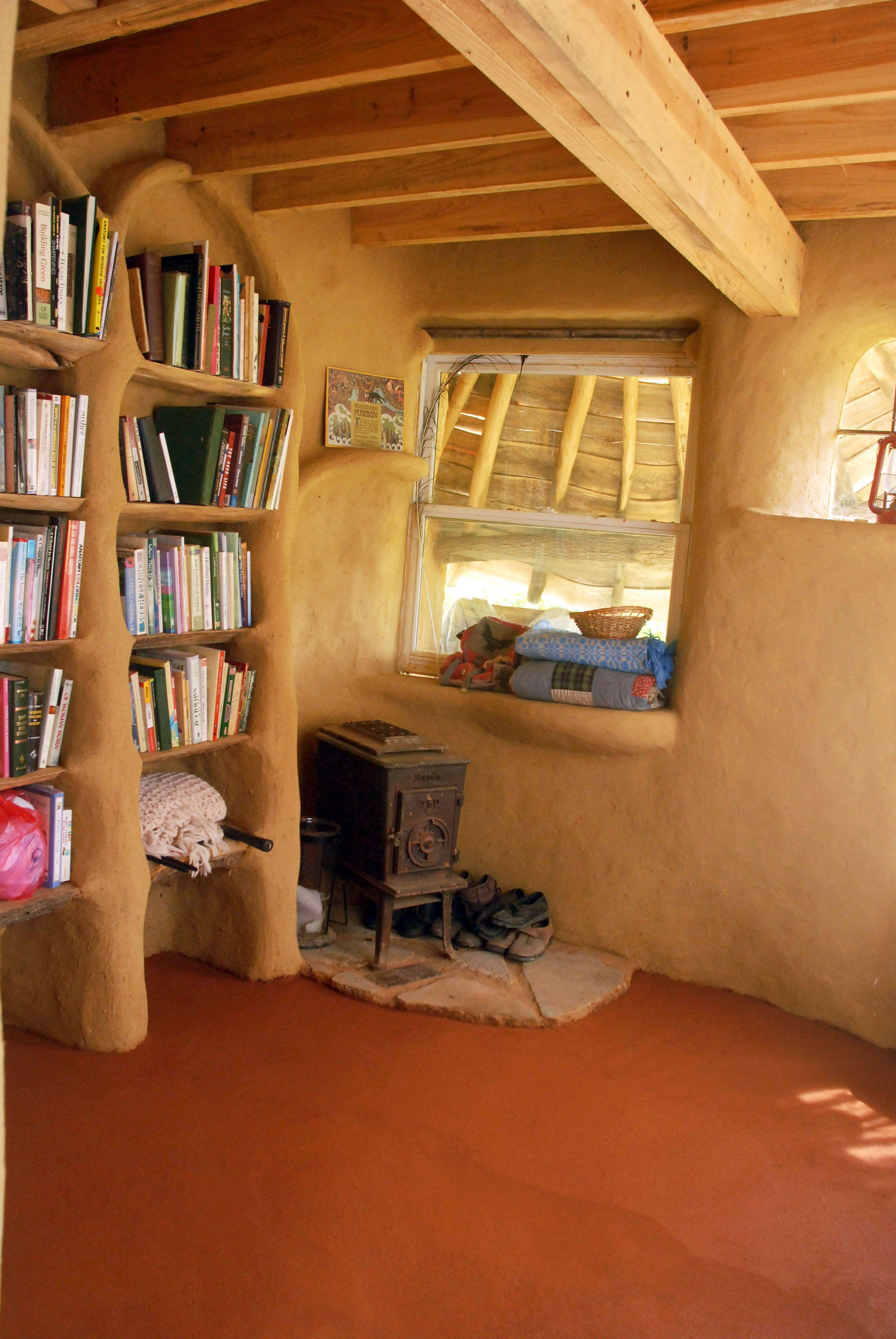 finish floor cob house pinterest build shelves plaster walls