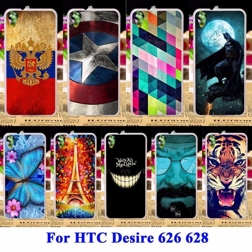 내구성 휴대 전화 케이스 htc desire 626 628 커버 626 와트 626D 626 그램 626 초 주택 커버 피부 하드 플라스틱 쉘 안티 스키드 후드