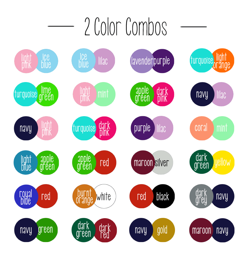 Two Color Combinations Twocolorcombinations In 2021 Cute Braces Colors Nail Color Combinations Braces Colors