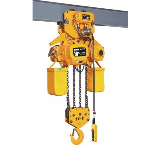 10 Ton Electric Chain Hoist Http Www Wokaite Net Product Detail 10 Ton Electric Chain Hoist Hoist Electricity Manufacturing