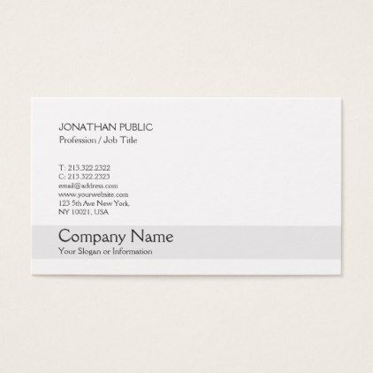 Trending Modern Elegant Creative Simple Plain Business Card   Architect  Gifts Architects Business Diy Unique Create Your Own