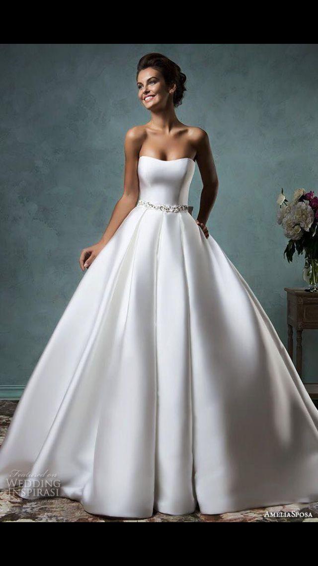 Huge Silk Wedding Dress