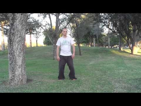 standing posture 1  basic instruction  youtube  tai chi