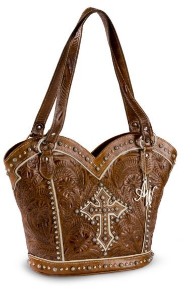 cd5047f551b American West Boot Scoot Boogie Leather Tote - Sheplers | Western ...