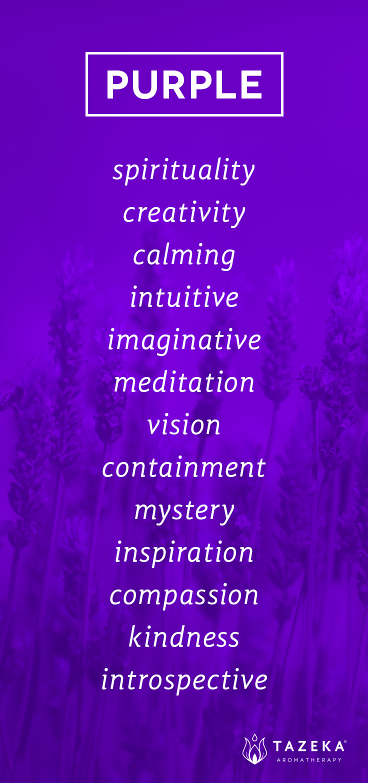 Purple Quotes Purple Color Psychology ~ Tazekaaromatherapy  My Favorite Color