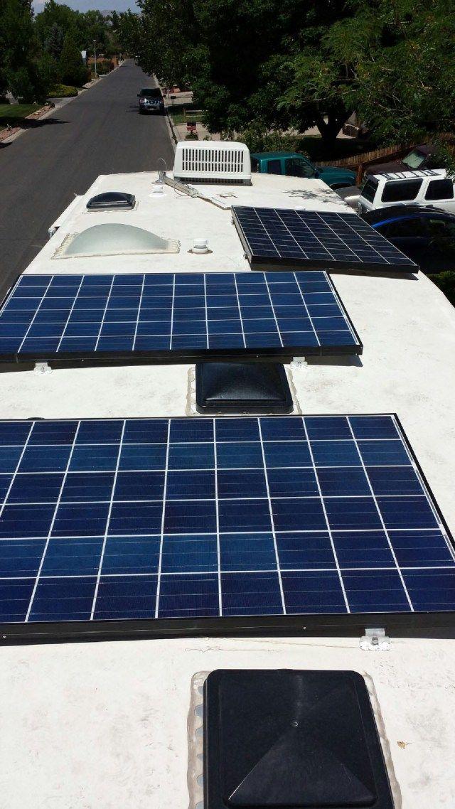 Kelly S Rv Solar Blog Rv Solar Solar Roof Solar Panel