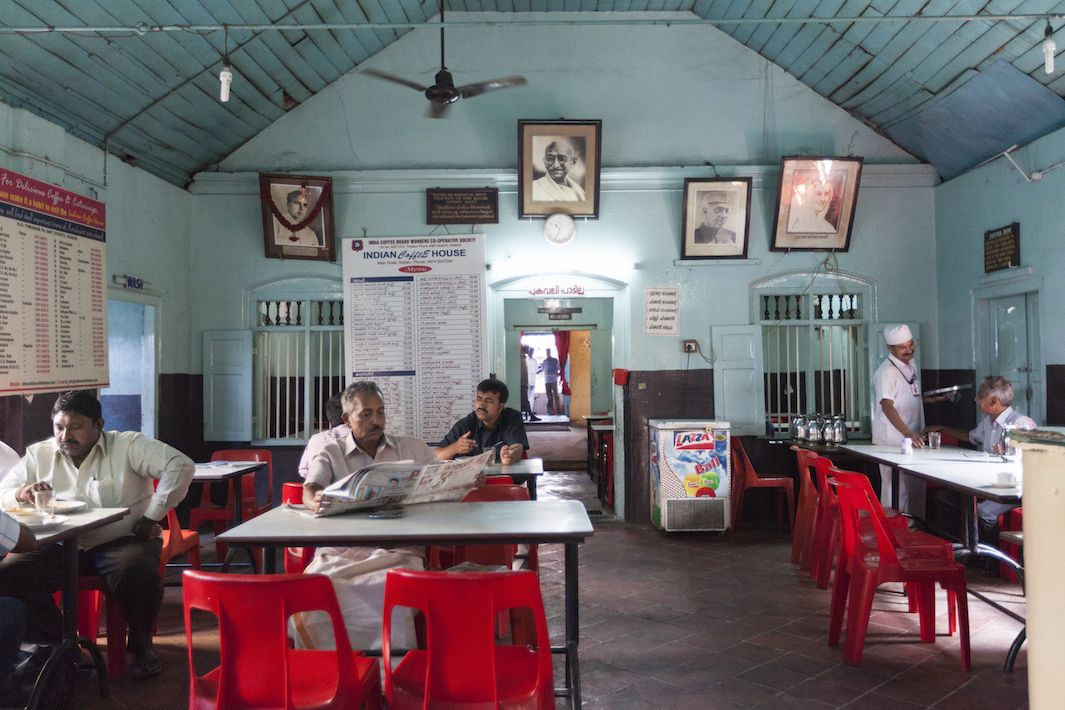 Worker Owned Coffee Houses Provide A Window Into Everyday Indian Life