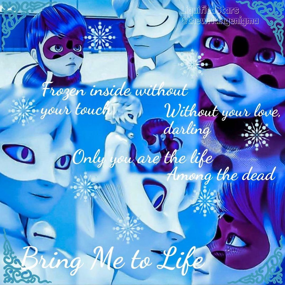 Liquifiedstars On Instagram Ladyblanc Bring Me To Life Song Lyrics Fro Bring Me To Life Miraculous Ladybug Comic Miraculous Ladybug Funny
