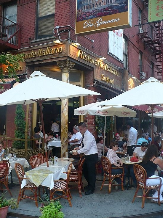 Italian Restaurants In Nyc: Little Italy Diners, New York City, United States Calm