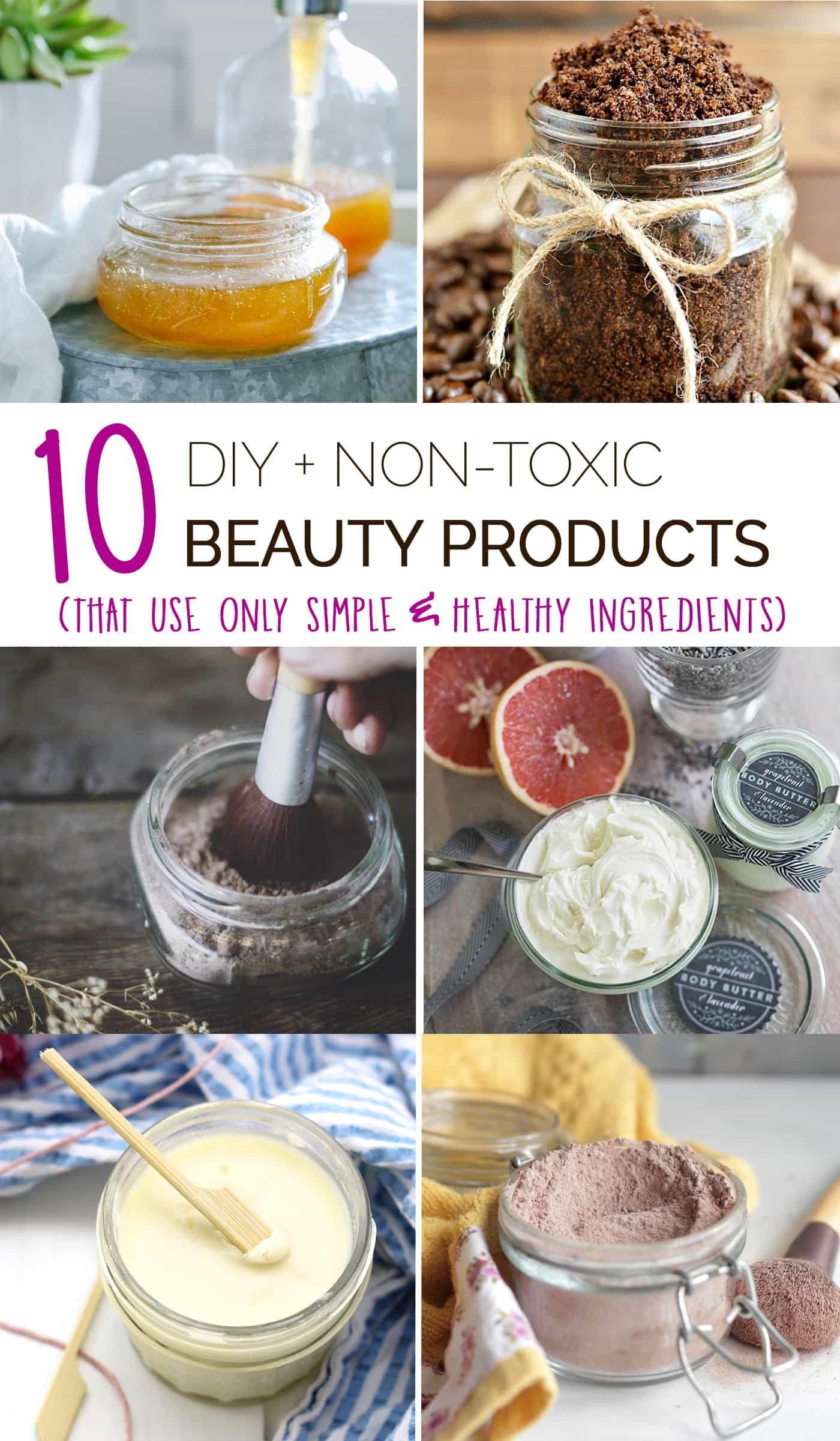 Produse cosmetice non toxice