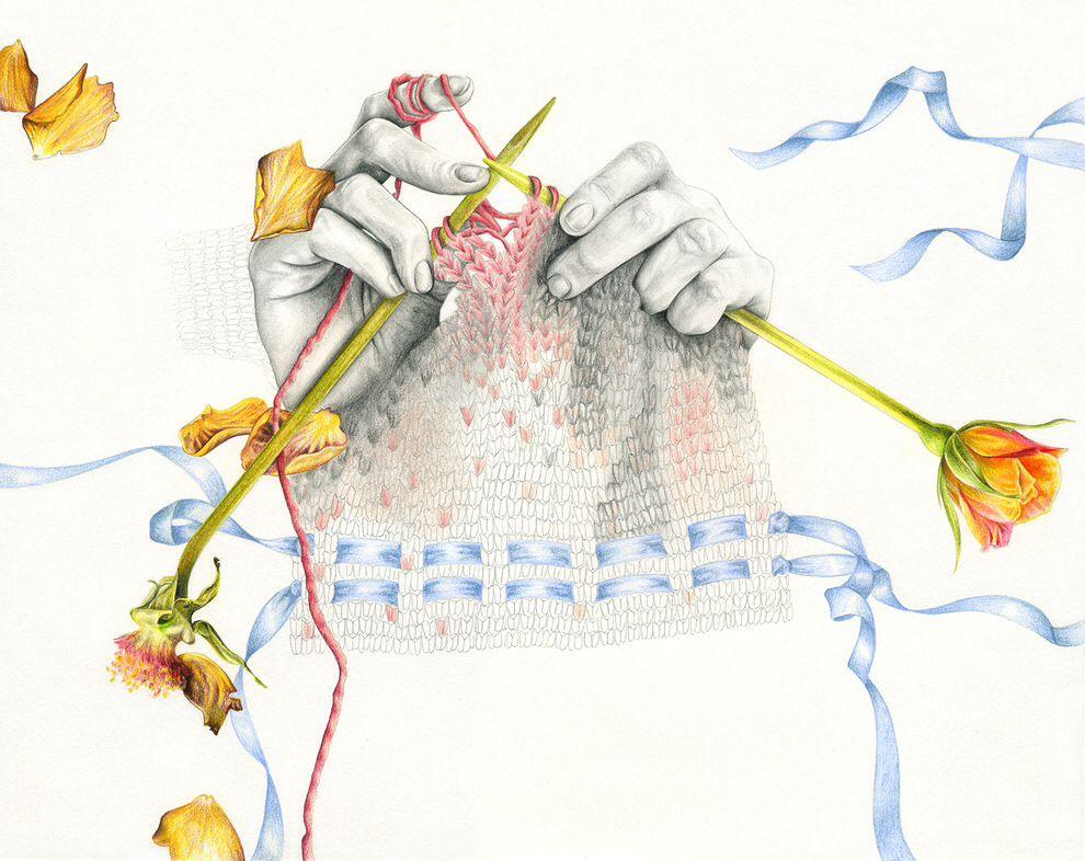 Веселые картинки вязания