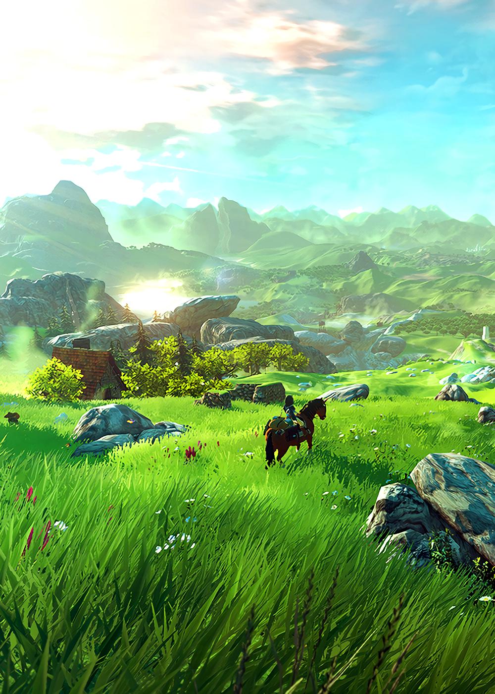 Two Zelda BotW mobile wallpapers | News of video game | Botw zelda, Legend of zelda e Zelda