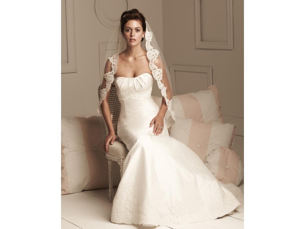 BEAUTIFUL Paloma Blanca Lace Wedding Dress