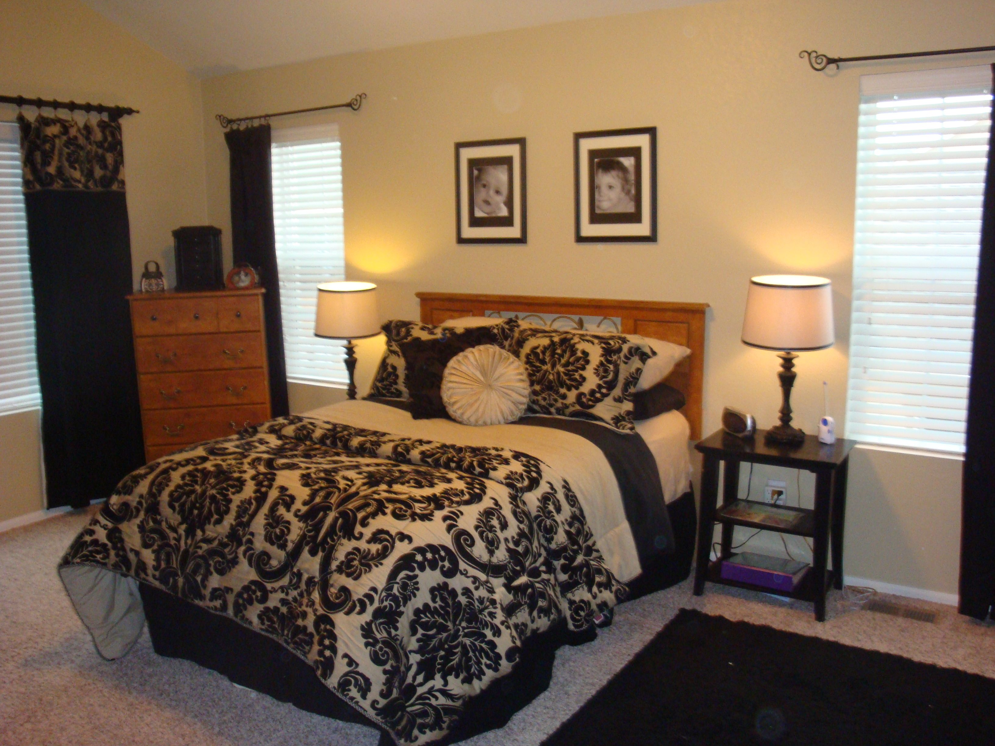 Genial My Black And Gold Master Bedroom