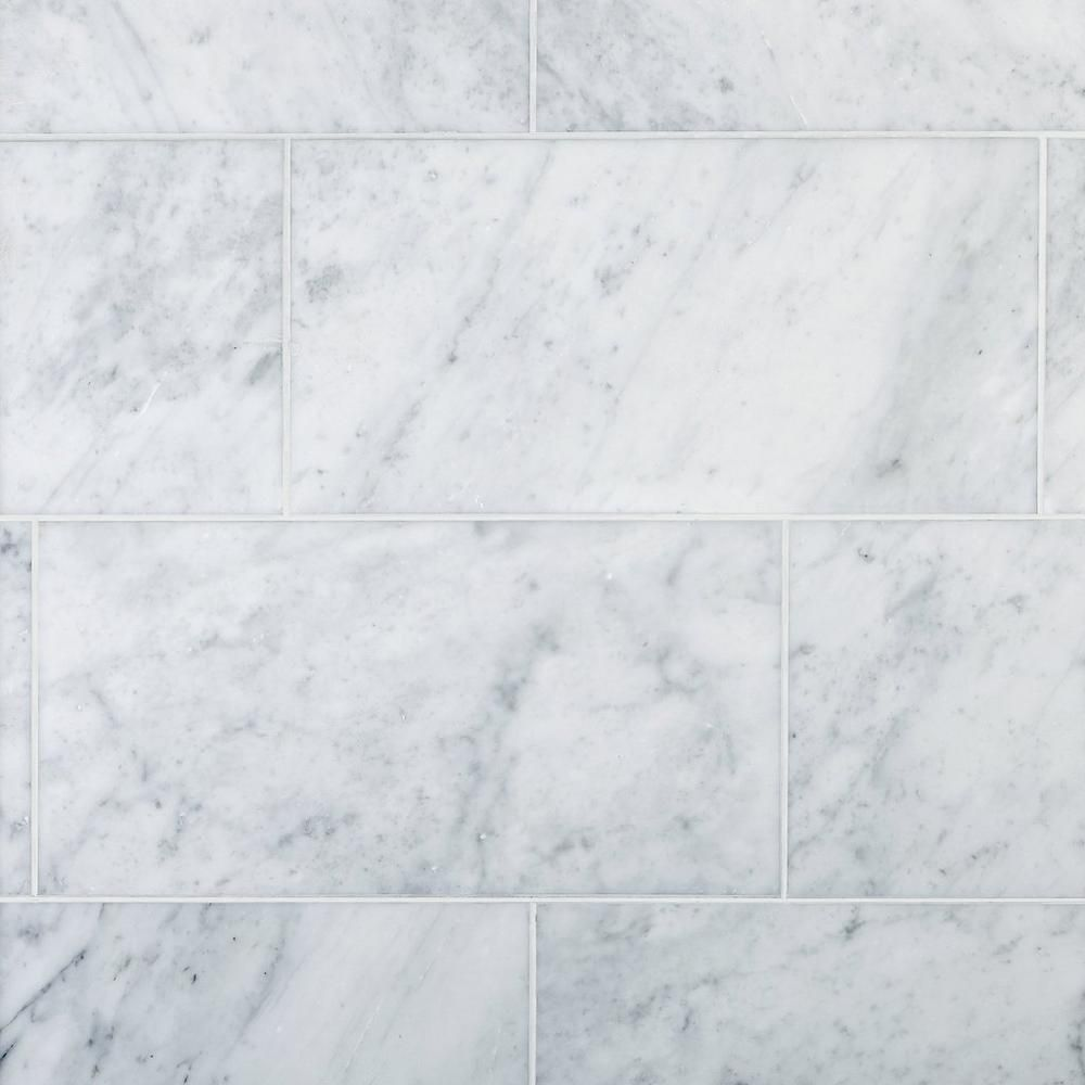 Bianco Carrara Honed Marble Tile Honed Marble Tiles Honed Marble Carrara Marble