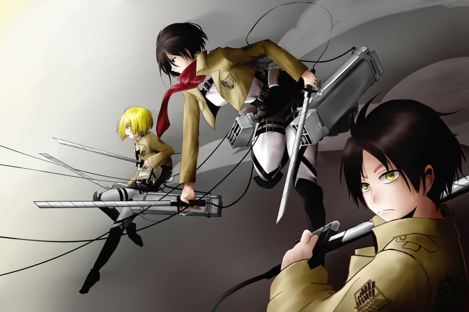 Shingeki no Kyojin by りょーき Anime images, Attack on titan
