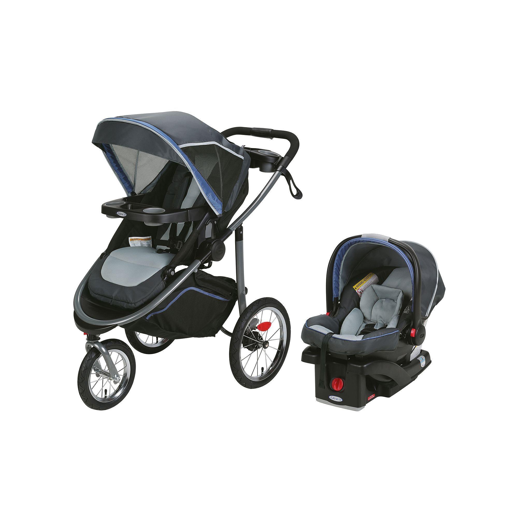 Graco Modes Jogger Stroller Travel System, Blue